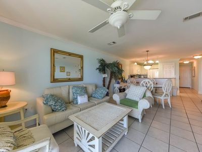 Photo for Beach with private patio, #106 at Crystal Dunes.  Great Family spot to enjoy!