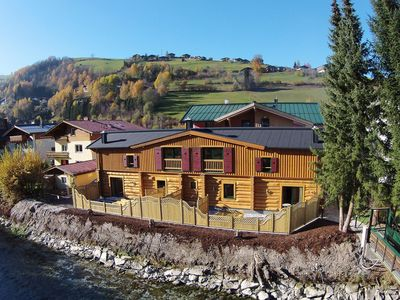 Photo for Very large chalet with private sauna in the centre of Kaprun