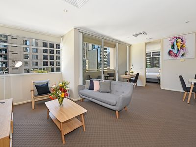 Photo for Fully furnished one bedroom Apt 608/318 Little Lonsdale St,CBD