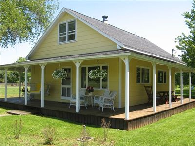 Our Scratch Pad cottage is on Centennial Ave. in Thousand...