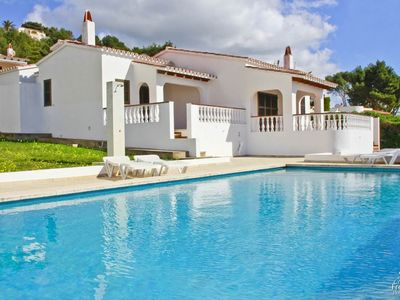 Photo for 2 bedroom Villa, sleeps 4 in Alaior with Pool