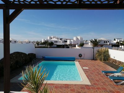 Photo for 2 Bedroom villa, large pool, wifi, great outside space..