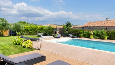 Photo for Villa with heated pool and secure TB services, Coeur Hérault, 8 pers