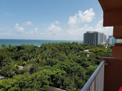 "Photo for ""3"" 2 bed 2 bath condo 1 block off beach sleeps 8"
