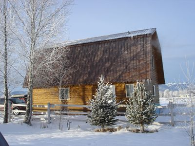 Photo for 2BR Cabin Vacation Rental in Driggs, Idaho