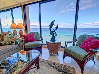 Photo for Views forever! Mahana Resort Direct Ocean Front on N. Kaanapali Beach