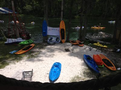 Photo for Cozy Waterfront Guest Suite W/Paddle Boards,Kayaks,Docks, LgGameRoom,Free Coffee