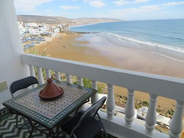 Taghazout gem with gorgeous terrace and balcony