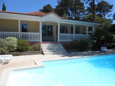 Photo for Luxury villa on the edge of golf with private pool, 3 bedrooms