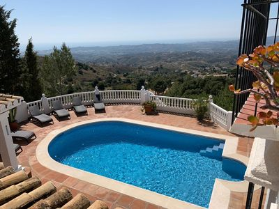 Photo for STUNNING 4 BED VILLA IN VALTOCADO WITH SPECTACULAR VIEWS TO THE COAST