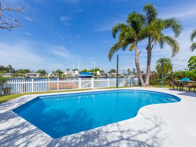 Photo for Waterfront Paradise, Dock / Golf Cart / Saltwater Pool