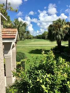 Photo for Luxury 3 BR Bonita Springs Coach Home overlooking 11th Green in Hunters Ridge
