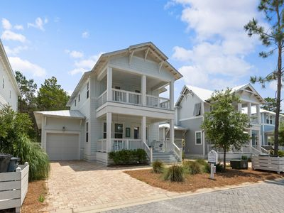 Photo for ☀Beachful Bliss-4BR-30A☀New Home! Book 4 Thanksgiving! 4 Bikes- Blue Mtn Beach