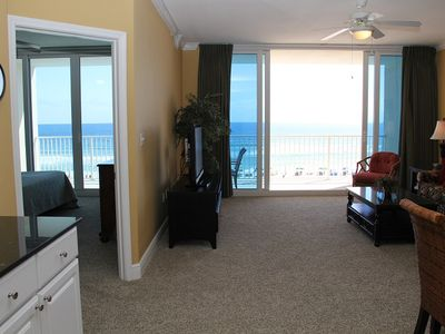 Photo for SC408, Stunning Condo, Gulf Front Views, 2 BR 2 BA, Sugar Sands