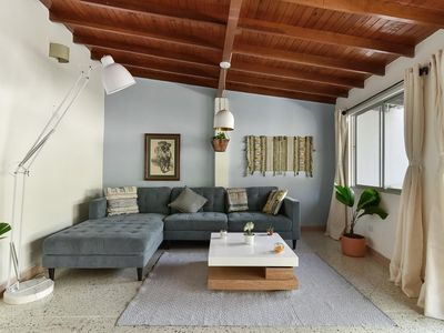 Photo for Light-filled Envigado, top-floor w/ Large Patio