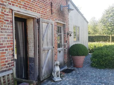 Photo for A cosy holiday home with a private garden and terrace in the Brugse Ommeland.