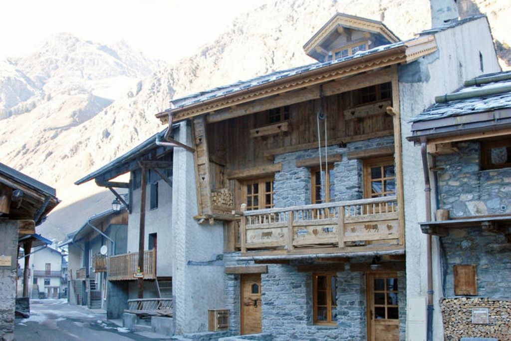 Chalet champagny cpv01 affitto chalet champagny en for Piani di casa chalet di montagna