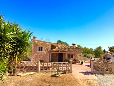 Photo for COZY HOUSE WITH CHARACTER MALLORQUIN. NEAR THE BEST BEACHES OF THE ISLAND!