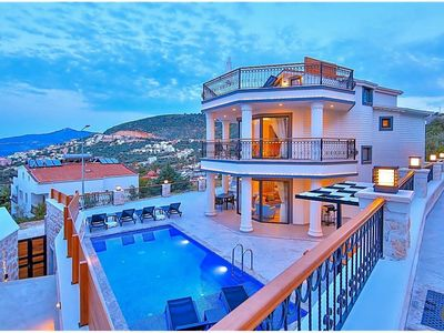 Photo for Kalkan Villa, Sleeps 6 with Pool and Air Con