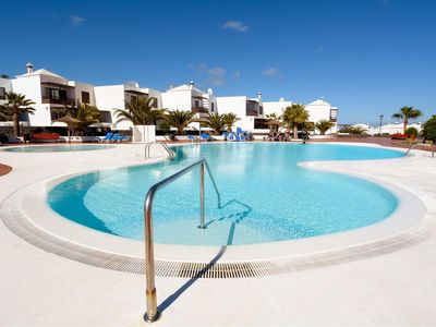 Photo for Esmeralda Share Pool Costa Teguise 2 bedrooms!
