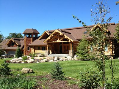 Photo for Private, Exclusive Lodge on Woman Lake with Beautiful Views