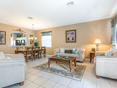 Photo for Luxury 6 bed/ 4 bath Villa in Windsor Hills, Kissimmee