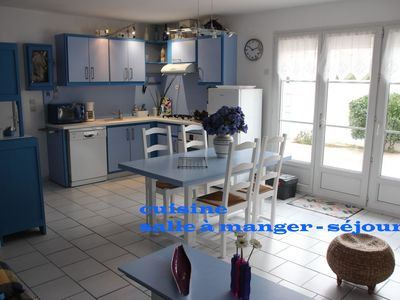 Photo for The Blue house, quiet vacations in the island of Re, sleeps 4 to 6