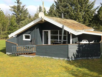 Photo for Cozy Holiday Home In Pandrup With Roofed Terrace