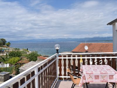 Photo for Beautiful apartment Rainbow 2 with sea view and close to the beach