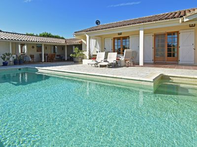 Photo for Beautiful villa with private swimming pool with terrace and outdoor kitchen, view of gorges