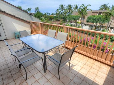 Photo for Maui Kamaole F-204, 2 Bedroom, Cozy Partial Ocean View, Sleeps 6