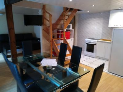 Photo for 2 room apartment + living room 6 people 25 min Puy du fou center vill