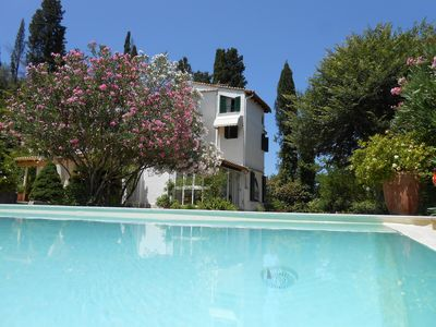 Photo for Calm, 2km from Beach & from Old Corfu Town Sea Views  Family-friendly, Privacy