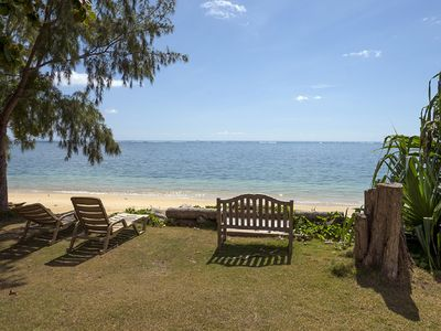 Photo for Almost New Beachfront Home on 1 Acre Property