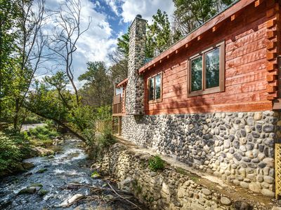 Photo for River Song - a Majestic New Log Cabin in the Heart of Gatlinburg!