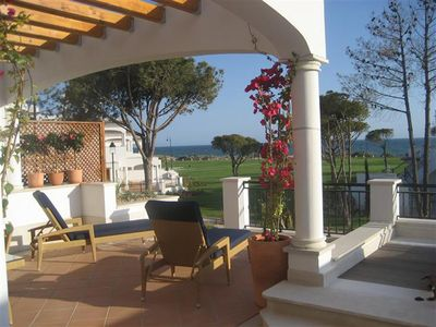 Photo for 2 bedroom Apartment, sleeps 4 in Vale do Garrao with Air Con and WiFi