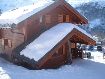 Photo for Chalet 7 bedrooms 14 people in the Menuir, Savois, FR