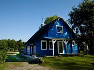 Photo for Log cabin at the Bodden, Germany