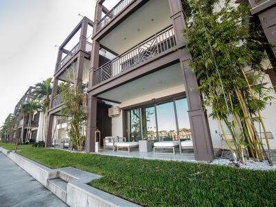 Photo for Stunning NEW Waterfront 4-story Town Home w/ Elevator