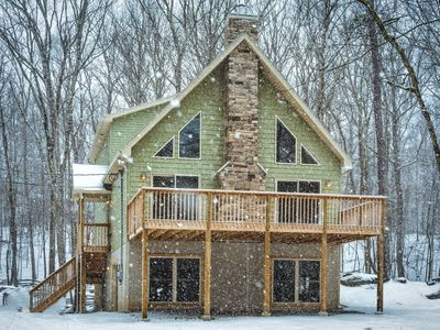Photo for Spacious and Stunning Masthope Chalet with room for over 24