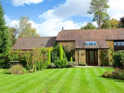 Photo for Stunning self catering Cotswold barn conversion for 5/6 guests-village location