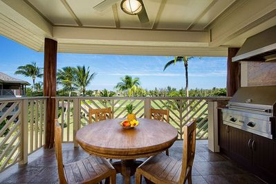 Enjoy Morning Coffee and the View from Your Beautiful Lanai