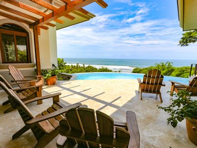 Photo for New Luxury Home, Walk to the Beach! Best Ocean Views in Dominical!