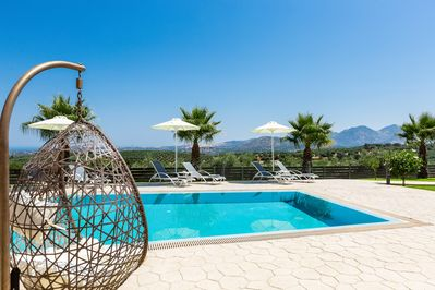The Villa is located in a 1,200 m² fenced area, offering privacy to our guests.