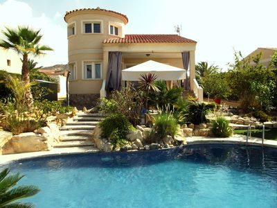 Photo for Lovely Modern 4 Bed Villa with Private Pool in Busot, Nr El Campello , Alicante