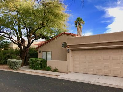 Photo for Quiet upscale home in gated La Paloma golf-course community