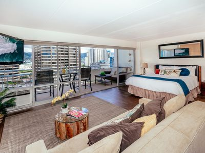 Photo for City View Modern Condo with Tons of Amenities in the Ilikai Hotel