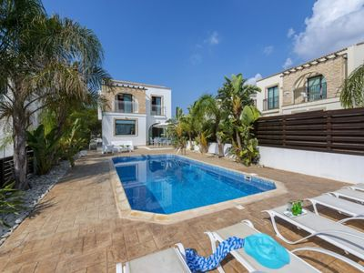 Photo for At Last You can Rent the Perfect Luxury Villa in Protaras close to all the action, Villa Protaras 1125