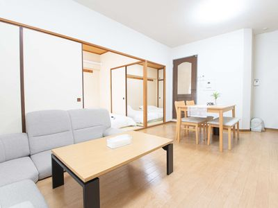 Photo for Spacious Apartment / Direct from KIX / 8pax