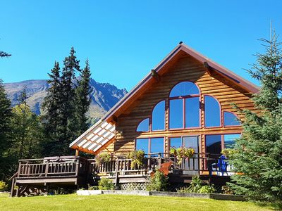 Photo for Private Awesome View W/ Hot Tub, Wi-Fi, Cell- Alaska: Right Out the Windows